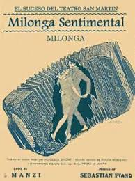 Milonga Sentimental - Portada